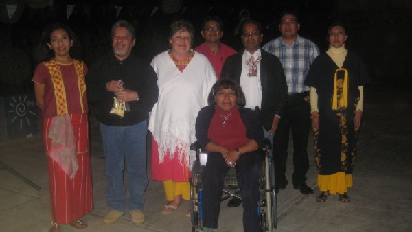 School teachers and directors of the Casa Hogar Benito Juarez, 2010